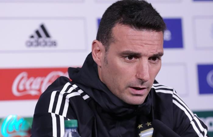 Lionel Scaloni presentó la lista de 26 jugadores para enfrentar a Alemania y Ecuador. Foto: Twitter Argentina