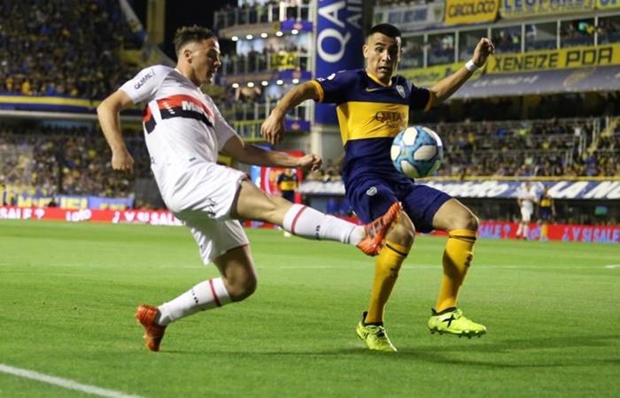 Boca y Newell's igualaron 1 a 1 en La Bombonera. Foto: Twitter Newell's