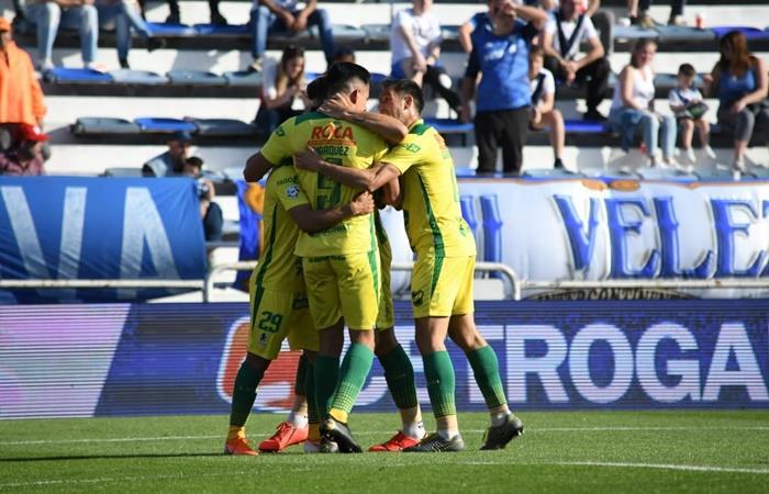 Defensa y Justicia le ganó 1 a 0 a Vélez en Liniers. Foto: Twitter