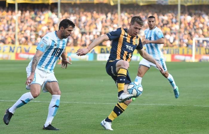 Rosario Central empato 1 a 1 ante Racing y mantiene el invicto. Foto: Twitter Rosario Central