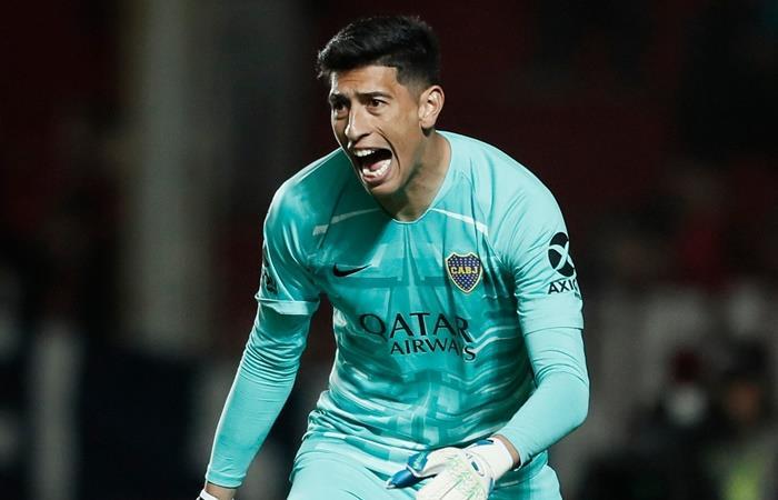 Esteban Andrada rompió 3 récords con la camiseta de Boca. Foto: Twitter