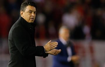"""Gallardo: """"El que quiera hablar del árbitro, no quiere ver la realidad"""""""