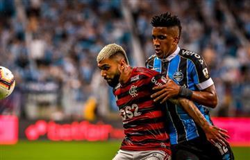 Gremio y Flamengo empataron 1 a 1 en un partido electrizante