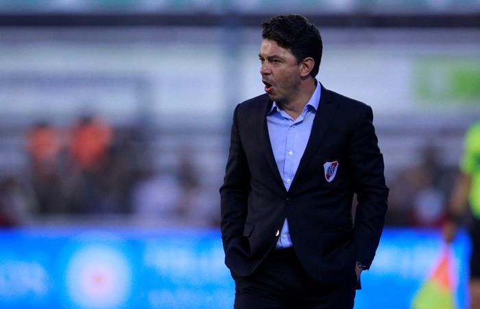 El diario Sport desmintió los rumores de Gallardo a Barcelona. Foto: EFE