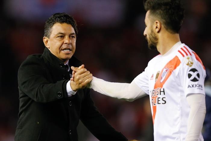 Marcelo Gallardo sonó para reemplazar a Valverde en Barcelona. Foto: EFE