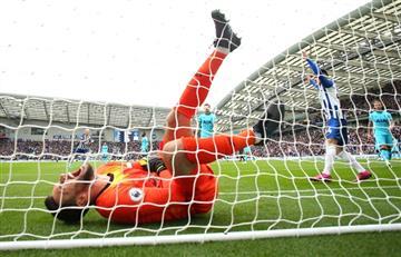 La escalofriante lesión de Hugo Lloris en la caida de Tottenham