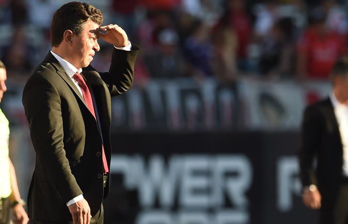 Marcelo Gallardo habló de los dichos de Pep Guardiola. Foto: Twitter