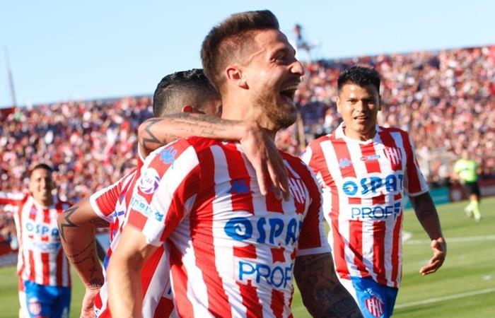 Unión le ganó 1 a 0 a Colón como local. Foto: Twitter