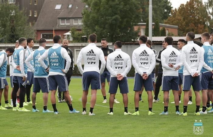 Argetina enfrenta a Alemania en Dortmund con equipo confirmado. Foto: Twitter Argentina