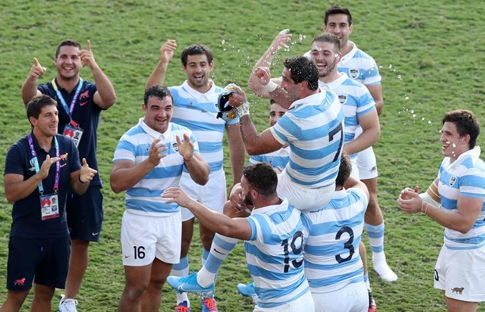 Los Pumas se despidieron del Mundial con un triunfo. Foto: Twitter