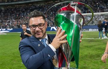 Antonio Mohamed, nuevo director técnico de Rayados de Monterrey