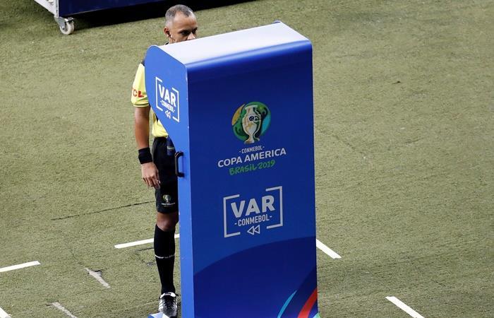 Wilton Sampaio será el árbitro de la semifinal. Foto: EFE