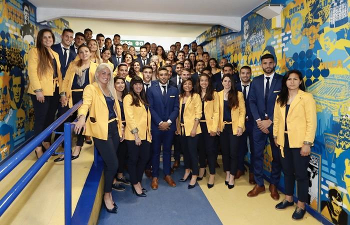 Boca recaudó 40.000.000 de pesos en la cena anual solidaria. Foto: Twitter Boca