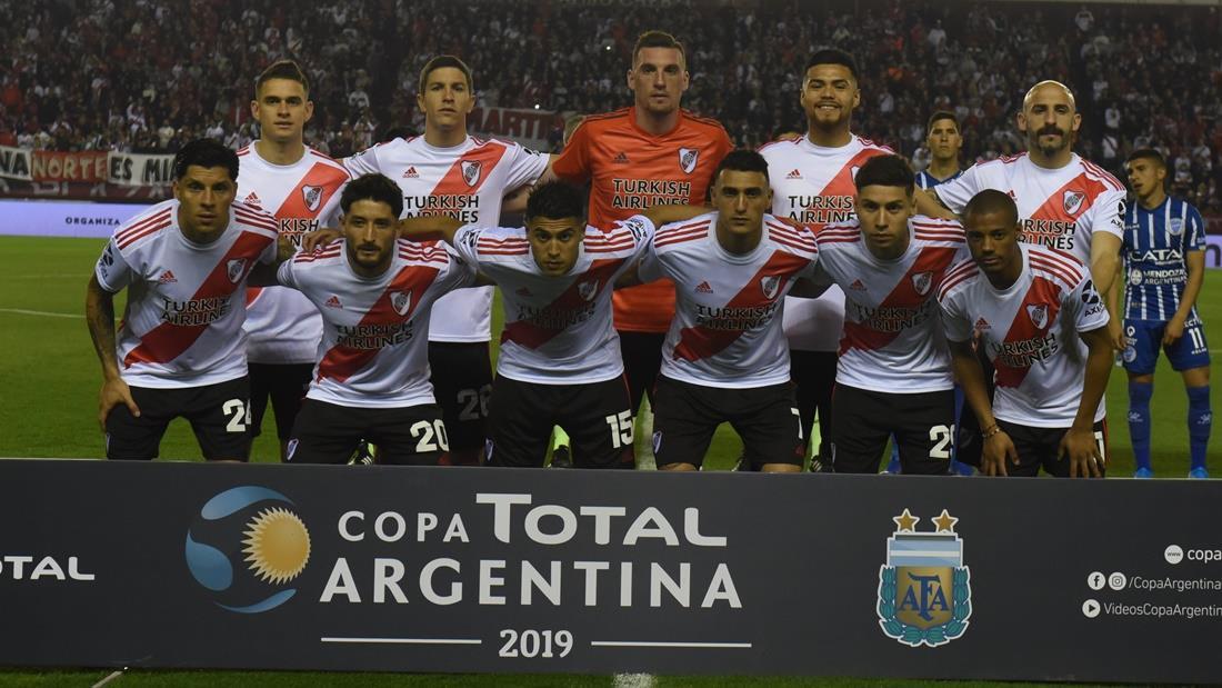 River va por la semifinal de Copa Argentina ante Almagro. Foto: Twitter
