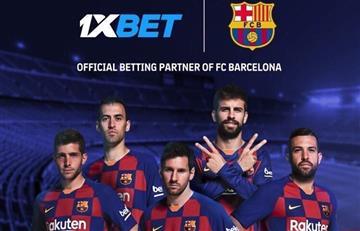1xBet se convierte en Socio Global del FC Barcelona