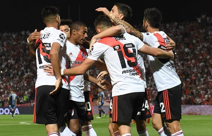River derrotó 2 a 0 a Almagro y es semifinalista de la Copa Argentina. Foto: Twitter River