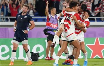 Japón hizo historia en su Mundial: victoria a Escocia y pase a cuartos