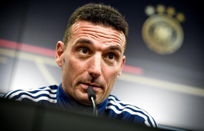 Lionel Scaloni habló de Lionel Messi y Sergio Agüero. Foto: EFE