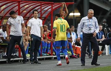 Tiembla el PSG: Neymar salió lesionado del amistoso