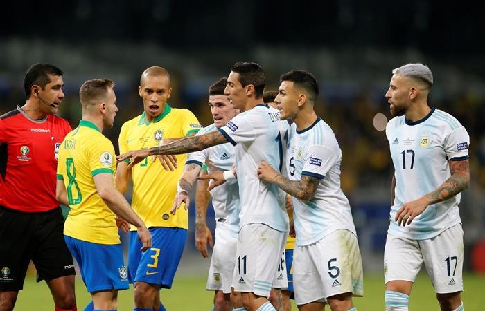 Argentina enfrentará a Brasil el 15 de noviembre. Foto: EFE