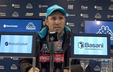 """Coudet sobre el interés de Inter: """"Agradecí y dije que no era momento"""""""