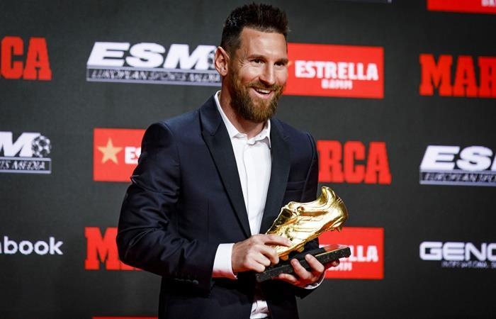 Lionel Messi habló de su vida, su carrera y su familia. Foto: Twitter Barcelona