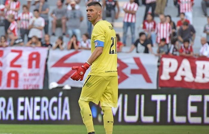 Mariano Andújar, crítico con el plantel tras la derrota en Copa Argentina. Foto: Twitter