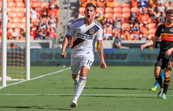 Cristian Pavón habló de su salida de Boca y la semifinal con River. Foto: Twitter LA Galaxy