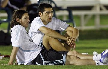 Lionel Messi confesó que podrá estar en la despedida de Riquelme