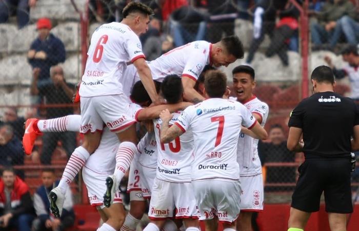 Huracán le ganó el clásico a San Lorenzo por 2 a 0. Foto: Twitter Huracán