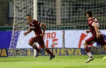 Lanús le ganó 4 a 2 a Talleres en un partido espectacular