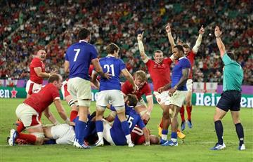 Sudáfrica y Gales jugarán la segunda semifinal en Japón 2019