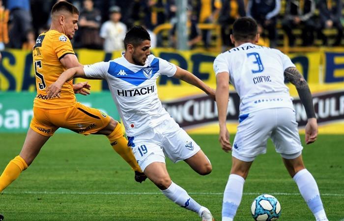 Vélez le quitó el invicto a Rosario Central y es escolta de la Superliga. Foto: Twitter Vélez