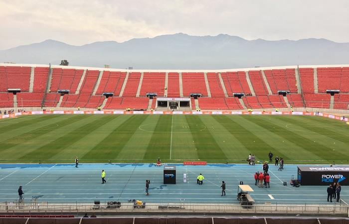 Conmebol ratificó a Chile como sede de la final de la Copa Libertadores. Foto: Twitter Chile