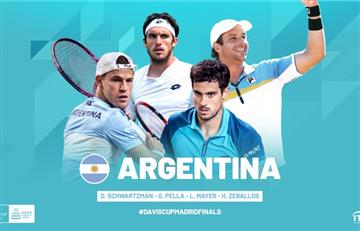 Gastón Gaudio confirmó a 4 de los 5 jugadores del equipo de Argentina para la Copa Davis