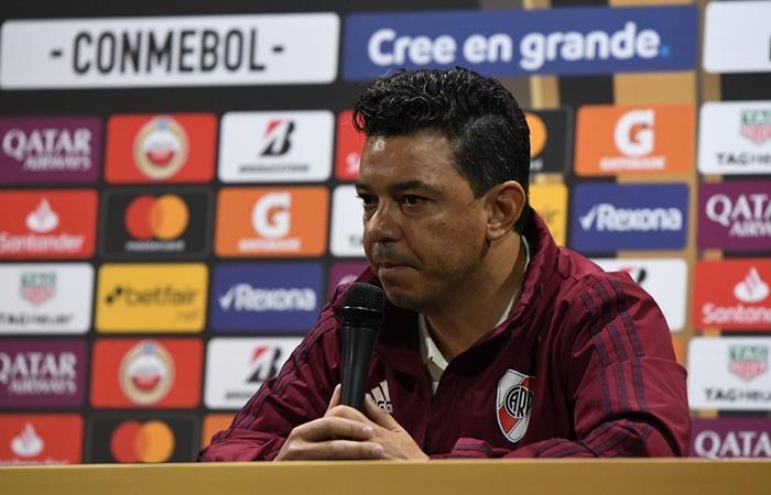 Marcelo Gallardo confirmó el equipo de River y repite los once de la ida en el Monumental. Foto: Twitter River
