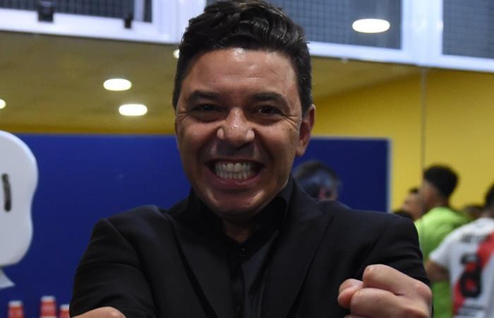 Marcelo Gallardo le ganó todas las series mano a mano a Boca. Foto: Twitter River