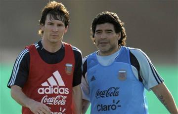 """""""El mejor del mundo es Messi, pero el de la historia es Maradona"""""""