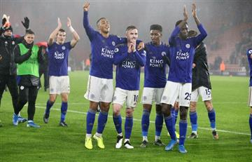 La histórica goleada de Leicester 9 a 0 a Southampton