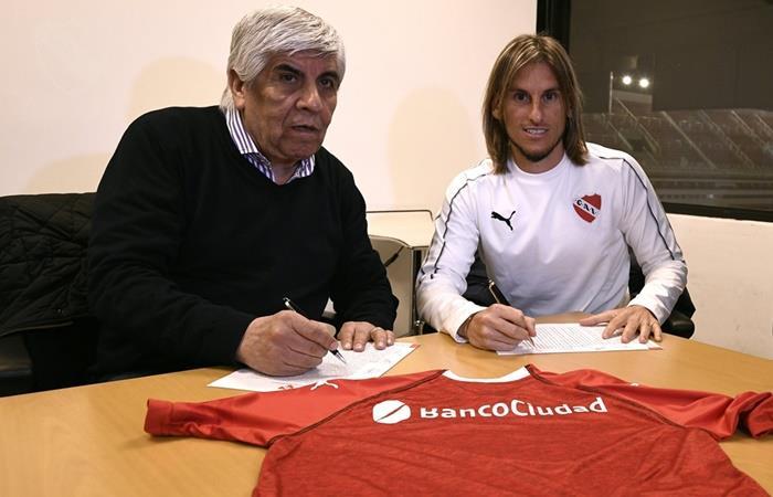 Sebastián Beccacece dejó de ser el entrenador de Independiente. Foto: Twitter