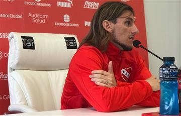 """Beccacece y su futuro en Independiente: """"Me juntaré con el presidente y veremos"""""""