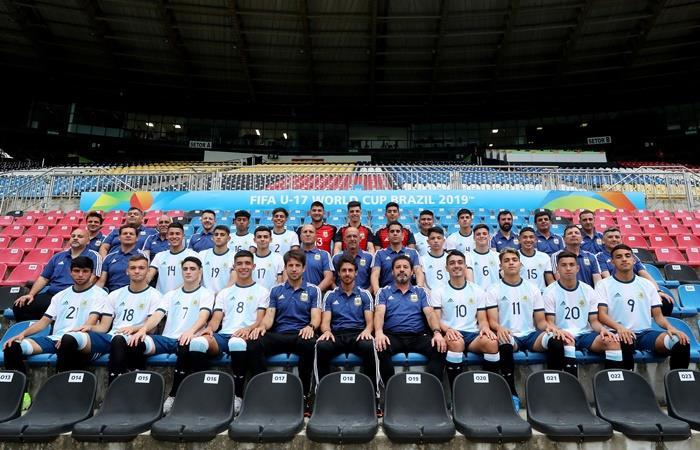 Argentina debuta en e Mundial Sub 17 ante España. Foto: Twitter