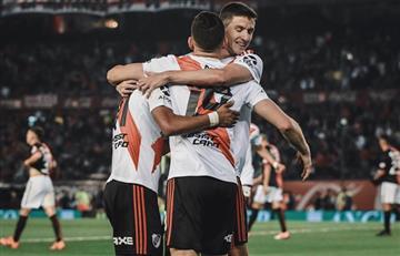 River le ganó 2 a 1 a Colón y se subió a la cima de la Superliga