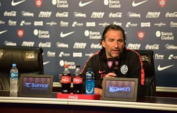 Juan Antonio Pizzi dejará de ser el técnico de San Lorenzo