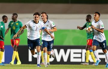 Sub 17: Argentina le ganó 3 a 1 a Camerún y se ilusiona en el Mundial