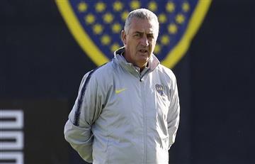 Gustavo Alfaro habló de su futuro en Boca