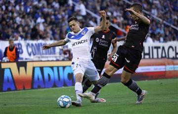 Vélez no pudo con la defensa de Huracán e igualó 0 a 0