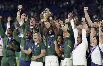 Sudáfrica le ganó 32 a 12 a Inglaterra y es tricampeón del mundo
