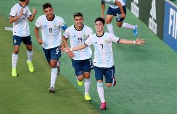 Argentina le ganó 3 a 1 a Tayikistán y clasificó a octavos de final