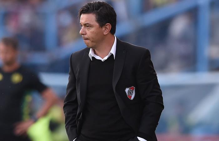 Marcelo Gallardo habló de la crisis en Chile y la final de la Libertadores. Foto: Twitter River Plate